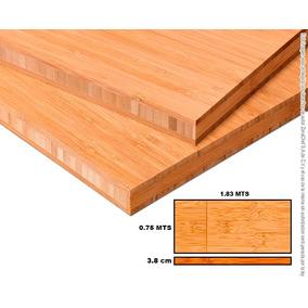 Cubierta De Cocina, Mesa Trabajo Comedor De Bambu 38mm