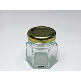 Frasco Mini Hexagonal 45 Ml (60 Pz) Incluye Envio