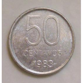 Moneda Argentina 50 Centavos 1983 Colección!