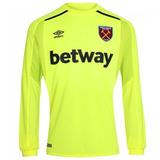 b29f702499 Camisa West Ham Goleiro Manga Longa 18-19 Importada