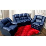 Juego De Living 3+1+1 Sofa+butacas