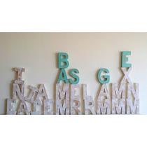 Letras, Nombres, Logos, En Madera Y Mdf, De 50cm