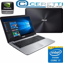 Notebook Gamer Asus X555lf-bra-xx190t Core I7 6gb 1tb