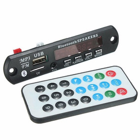 Módulo Mp3 Usb/sd/fm/aux Con Bluetooth Y Control Remoto V3.0