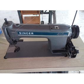 Máquina Coser Recta Industrial Singer 491d200aa