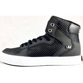 Zapatillas Supra Vaider Black Carbon Hombre Mujer Botitas !