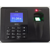 Relogio De Ponto Biometrico Impressao Digital Eletrônico