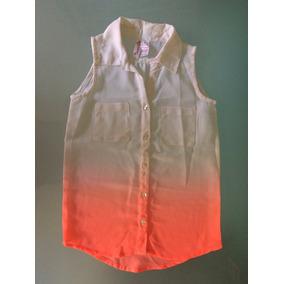 Blusa De Vestir P/niña Talla 7
