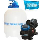 Filtro Sodramar Fm-60 C/ Bomba Bmc-100 Para Até 113000 Mil
