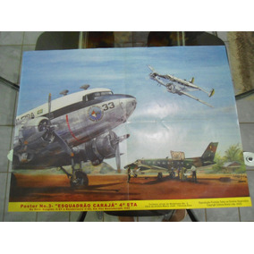 Poster N° 3 Esquadrão Carajá 4° Eta