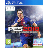 Pes 2018 Ps4 Pro Evolution Soccer Físico Sellado Juego Play