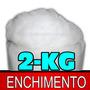 2-kg-fibra Siliconada 100% Plumante Anti Alérgica, Almofada