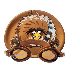 Set Natación Gogles Gorra Infantil Angry Birds Star Wars E4f