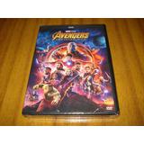 Dvd Avengers / Infinity War (nuevo Y Sellado) Español Latino