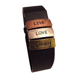 Fitband Fun Live, Love, Laugh Fitness Band Ac | Deportes