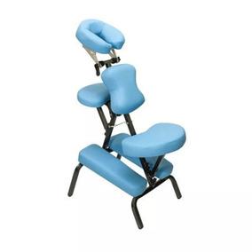 Cadeira De Quick Massagem - Marca Carci - Azul - Liquidação