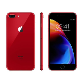 Iphone 8 Plus Red Special 64gb Retina Hd 5.5 Ios11 12mp