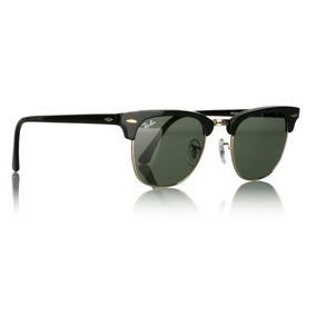 03de6ed81f530 Oculos De Sol Clubmaster 3016 Preto Armação Acetato E Metal