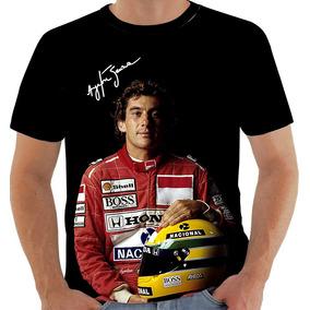 Camisetas Ayrton Senna - Camisetas Manga Curta para Masculino no ... 5258c27b3f303
