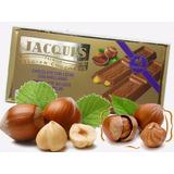 6 Barras De Chocolate Belga Jacques