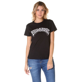 Remera M/c Billabong Little Wings Surf Tee Negro Mujer