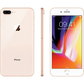 Iphone 8 Plus Dourado 64gb Tela 5.5 Ios 11 4g Wi-fi Câmera