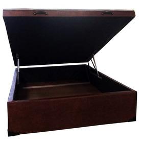 Cama Box Baú Casal Reforçada - Exclusive