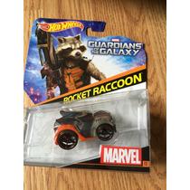 Rocket Racoon Guardianes De La Galaxia Hot Wheels