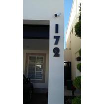 Número De Aluminio Modelo Bauhaus,negocio,casa,decoracion