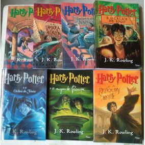 Livros Harry Potter 1 Ao 7 Completo