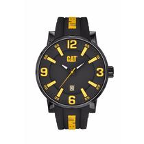 Reloj Cat Nj.161.21.137 Original Negro Amarillo Envio Gratis