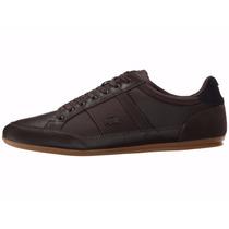 Zapatos De Cuero Lacoste Chaymon Modelo: 7-31spm0080257