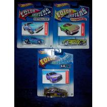 Carritos Hot Wheels Color Shifters Originales