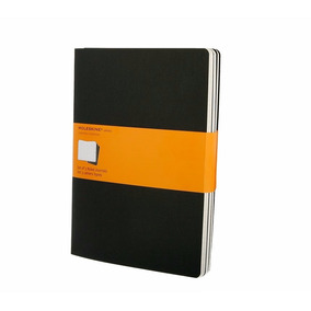 Caderno Moleskine Cahier (conj C 3) Ext Gde Pautado Pto 5014