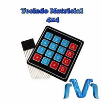 Teclado Matricial 4x4 Para Arduino, Pic