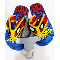 Bellisimas Sandalias De Spiderman Para Niños Importadas
