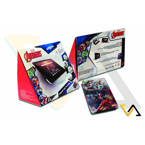 Tablet Avengers Android Incluye Funda