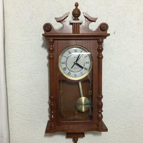 Hermoso Reloj De Pared Strausbourg Péndulo Quartz Oferta.