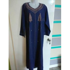 Abaya / Tunica / Ropa Musulmana / Dama Vestido De Jeans Moda