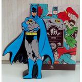 Cofre Cofrinho Batman Cerâmica Estante Mesa Sala Gibi Herói