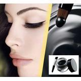 Delineador En Gel Para Ojos Y Cejas Negro Importado