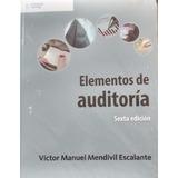 Elementos De Auditoria 6ta. Edicion