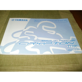 Manual De Usuario Original Yamaha New Cripton