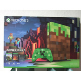 Xbox One S Minecraft 1 Tb Edicion Limitada