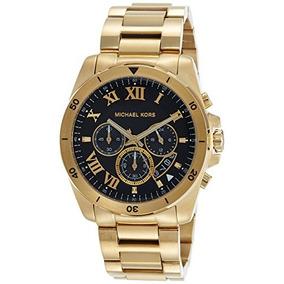 Michael Kors Hombre Brecken Reloj De Oro-tono Mk8481