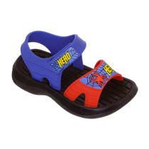 Sandália Papete Infantil Menino Homem Aranha Azul