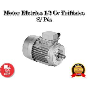 Motor Trifásico 0.5 Cv Carcaça 71 B14 Flange Cdin