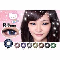 Pupilentes Hello Kitty 18.5mm Big Eyes-azul