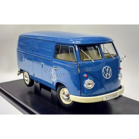 1:18 Volkswagen T1 Bus Panel 1963 Azul Welly Combi