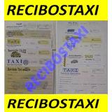 Talonario De 50 Recibos De Taxi, Para Taxi Particular Factur